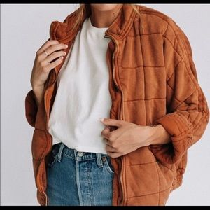 ISO Free People Terra-cotta Dolman Jacket size S
